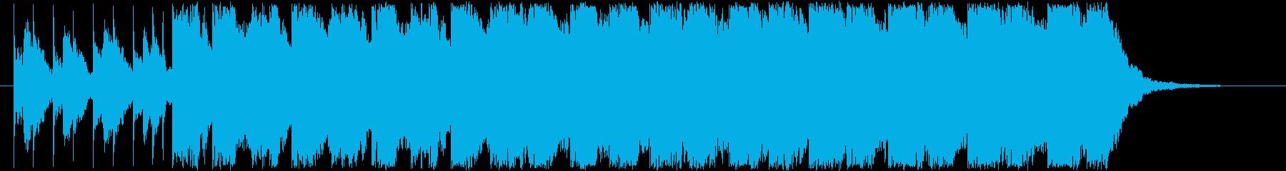 ミステリアスでホラーなBGM。の再生済みの波形