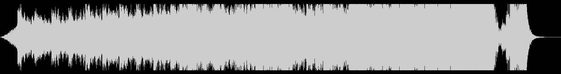 ハリウッド映画風の壮大なオーケストラ5Aの未再生の波形