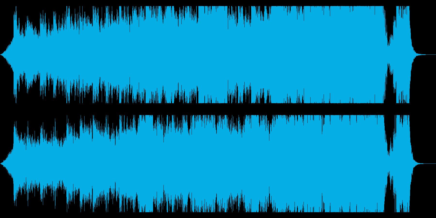 ハリウッド映画風の壮大なオーケストラ5Aの再生済みの波形