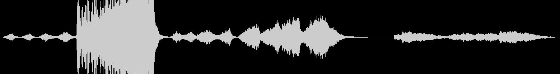 サスペンスcの未再生の波形