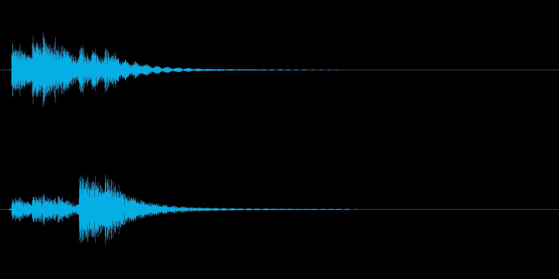 ドラム、タム、タイプB、アクセント...の再生済みの波形
