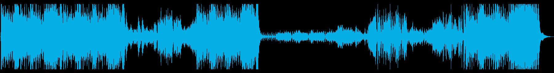 カルメンの前奏曲の再生済みの波形