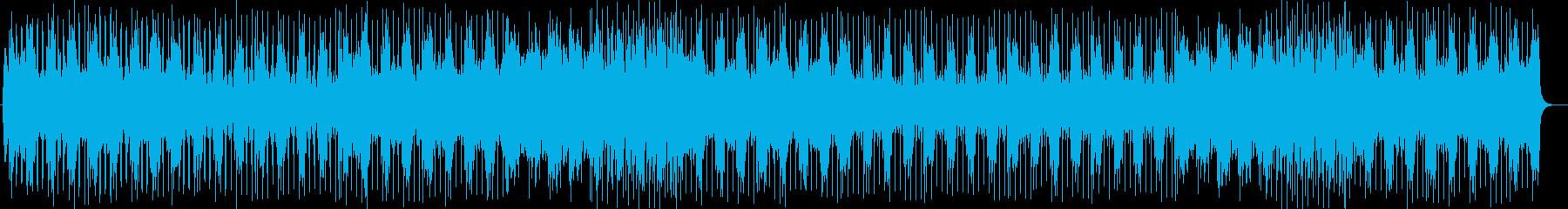 ワクワクウキウキポップスの再生済みの波形