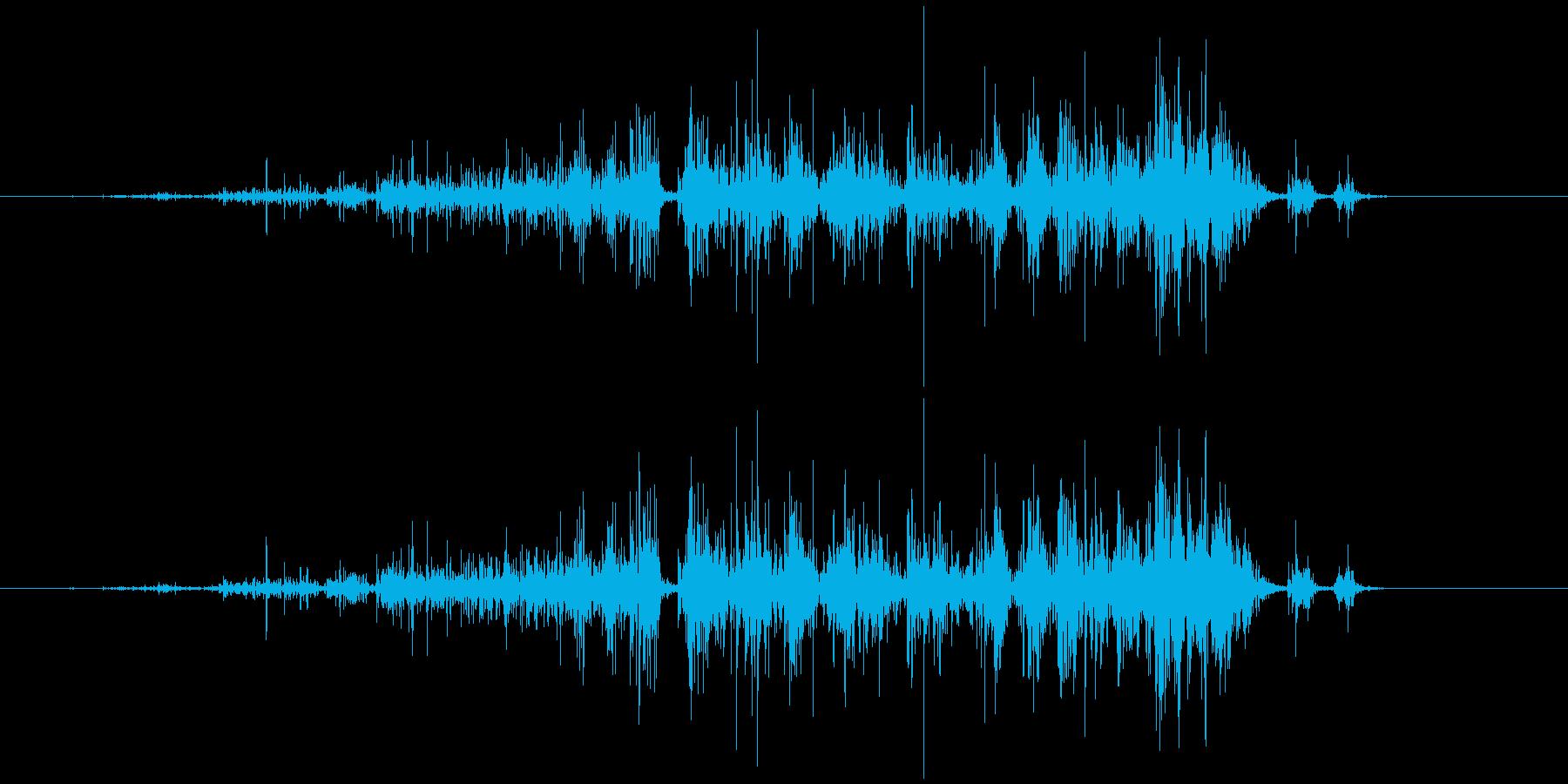 ハサミ 切る (ジャァキッ)の再生済みの波形