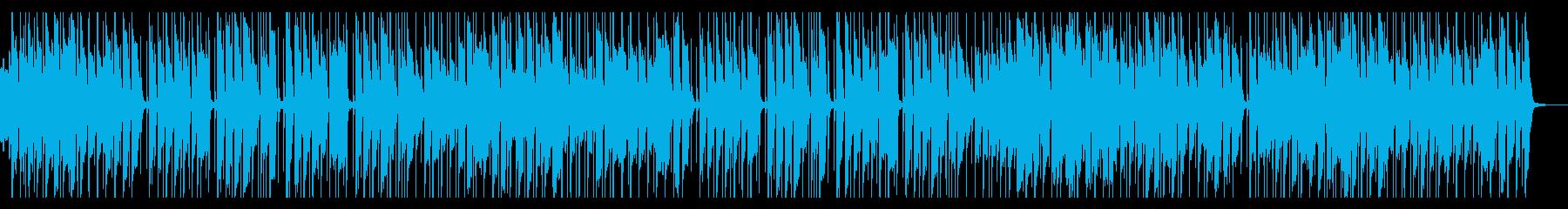 ウキウキ楽しい日常の一コマの再生済みの波形