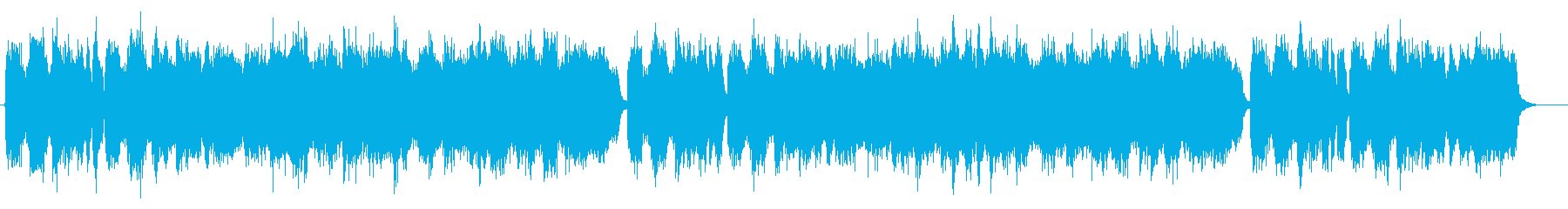 モーツァルト風の軽快な交響曲の再生済みの波形