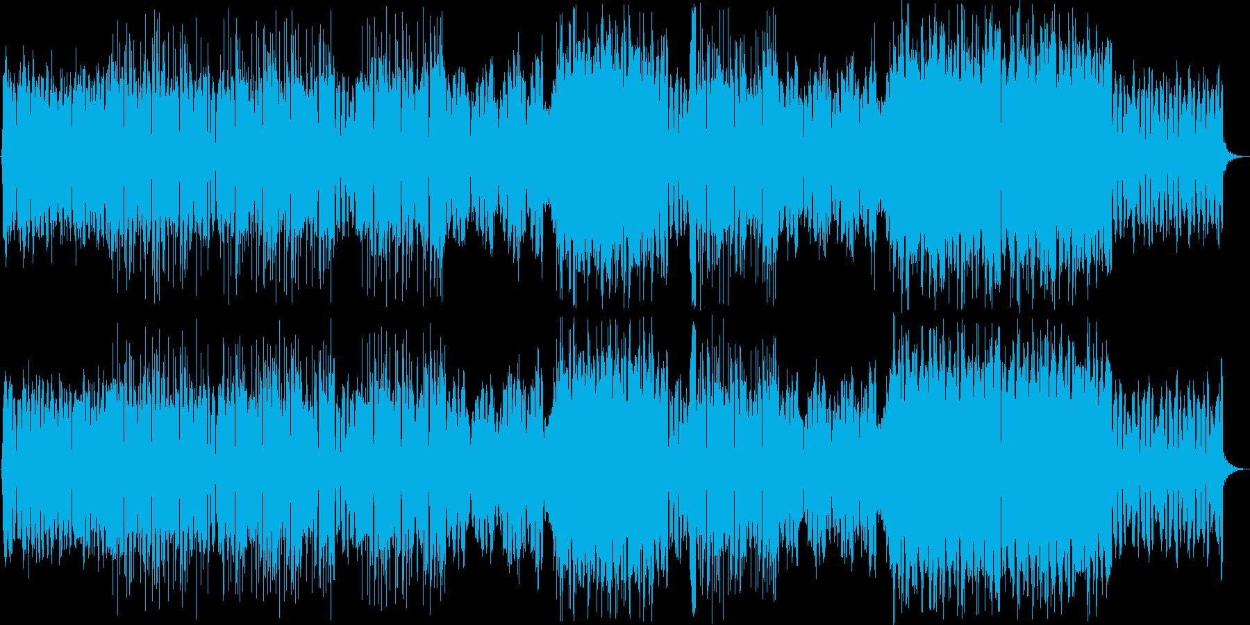 移り行く季節のFutureBassの再生済みの波形