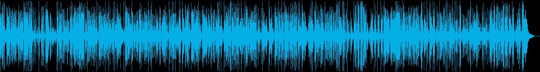 爽やか、疾走アコースティックジャズピアノの再生済みの波形