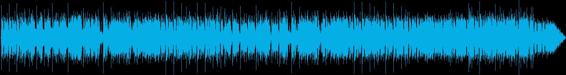 R&B風ジャズインストの再生済みの波形