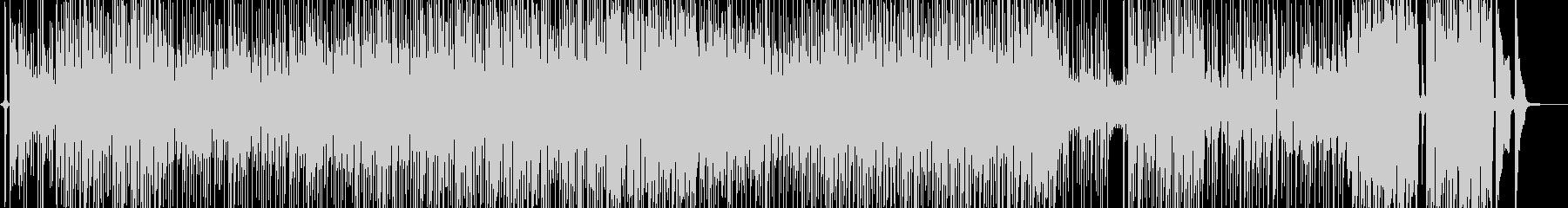 手品・お笑いの雰囲気に適したファンクの未再生の波形