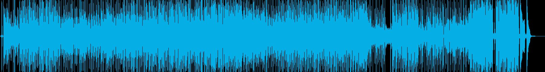 手品・お笑いの雰囲気に適したファンクの再生済みの波形