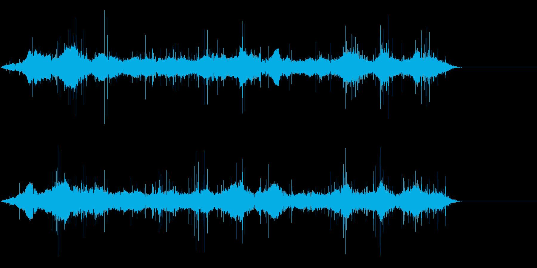 電波ノイズ8の再生済みの波形