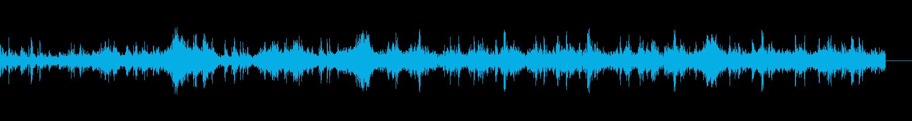 トレインホイールクローズアップループの再生済みの波形