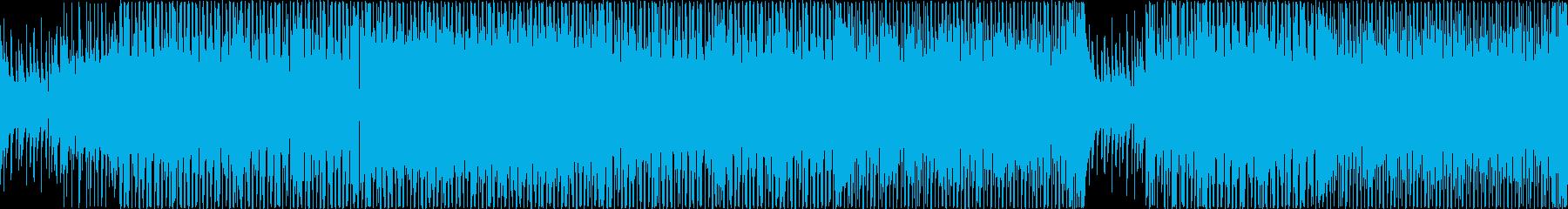 【ループ】海岸線をドライブするようなピアの再生済みの波形