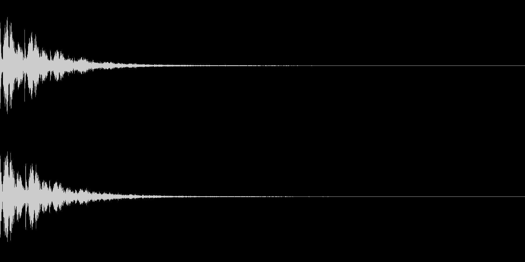 SE ズキュンと胸を打たれる ラブコメの未再生の波形