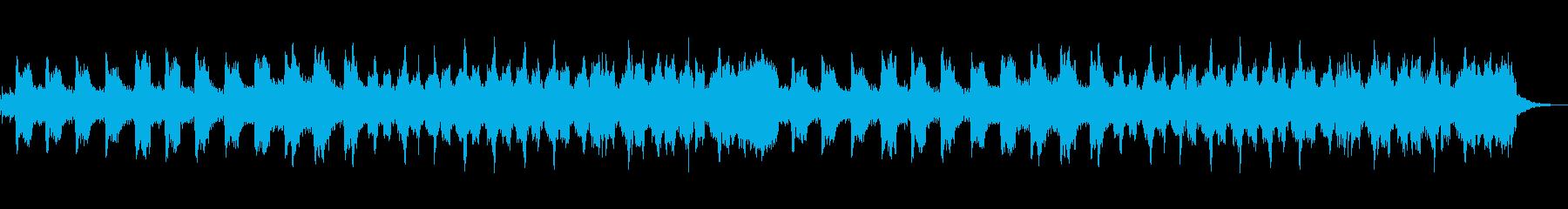 流れ星の再生済みの波形