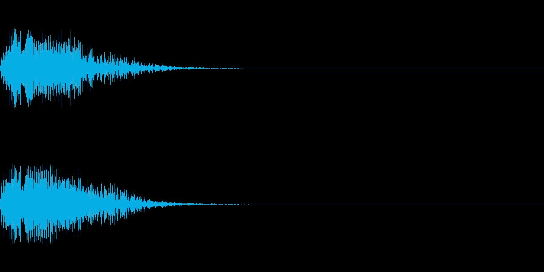 ショット_その10の再生済みの波形
