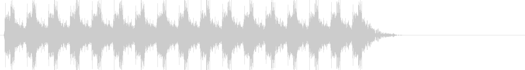 ドドドドドドドドド(銃声、連射)の未再生の波形