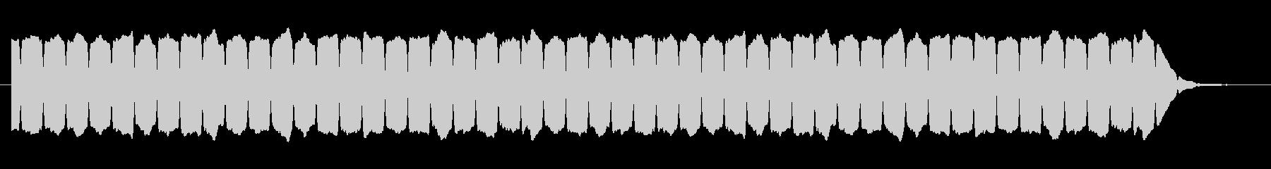 鉄道サウンド 駅発車ブザーの未再生の波形