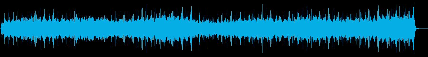 淡々としたワールド・ミュージック風の再生済みの波形
