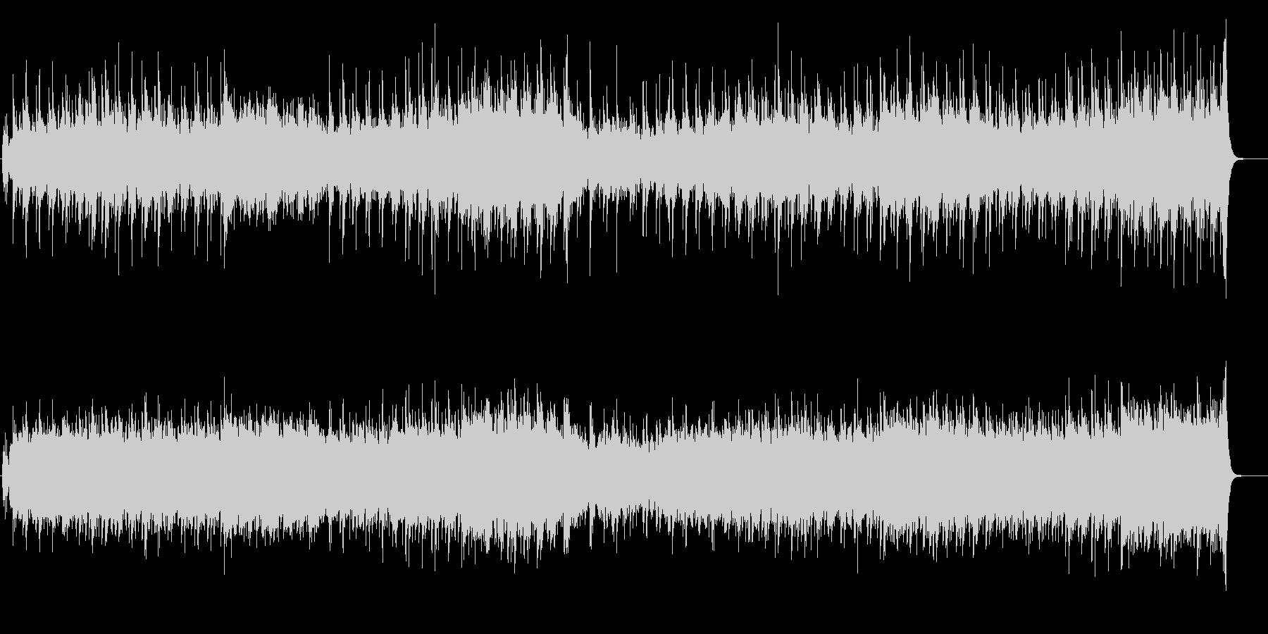 淡々としたワールド・ミュージック風の未再生の波形