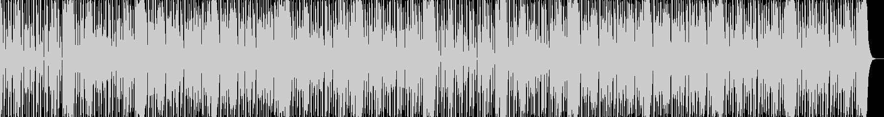 ダークなブラスとスクラッチヒップホップaの未再生の波形