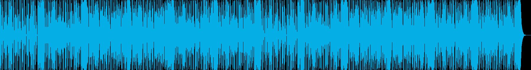 ダークなブラスとスクラッチヒップホップaの再生済みの波形
