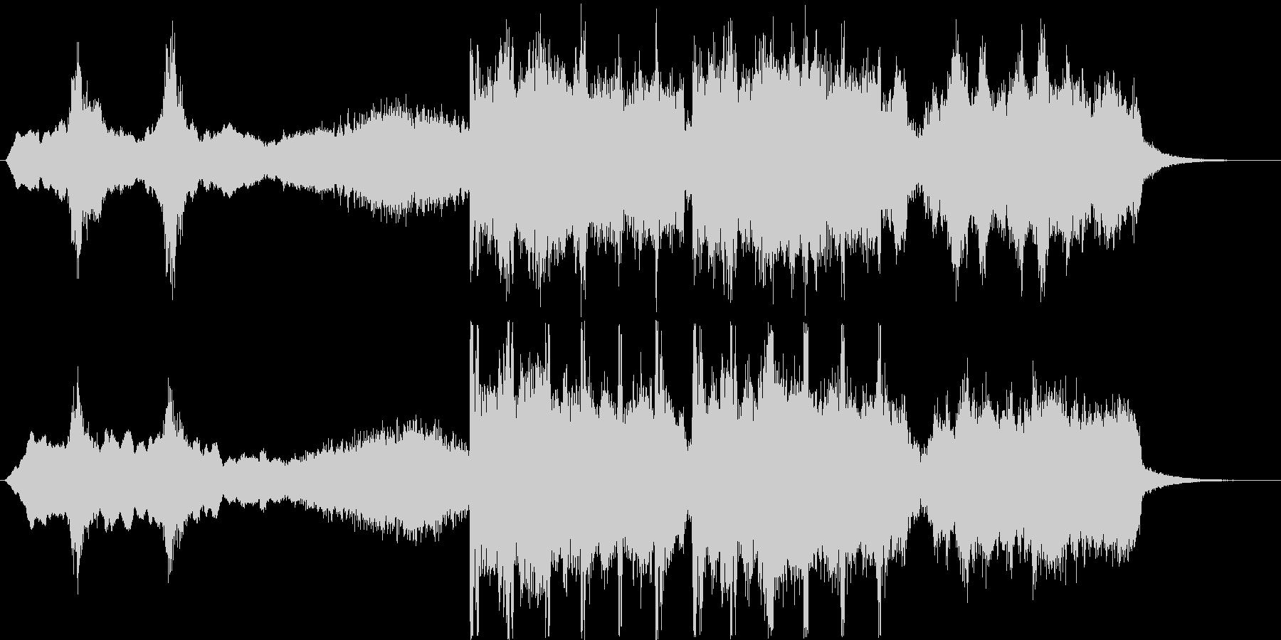 不気味なシンセ・弦楽器など短めの未再生の波形