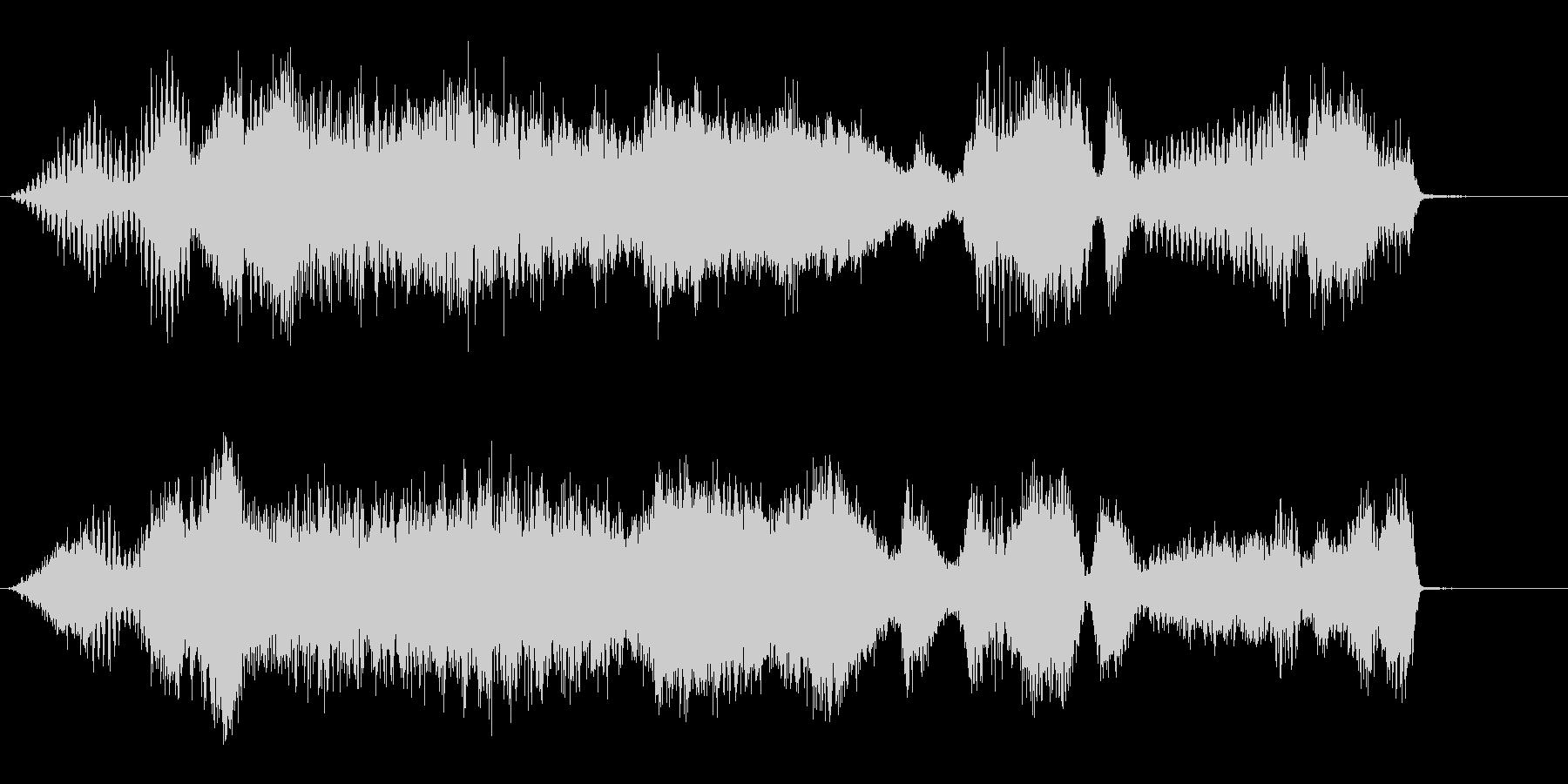 渦巻きの未再生の波形