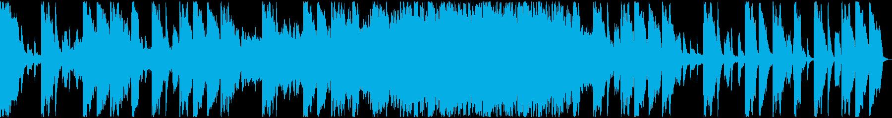 【ミステリアス】ロング1、ジングル2の再生済みの波形