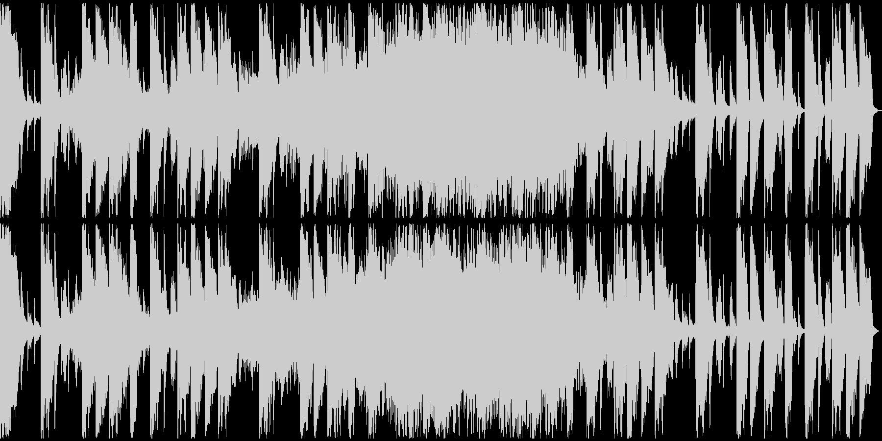 【ミステリアス】ロング1、ジングル2の未再生の波形