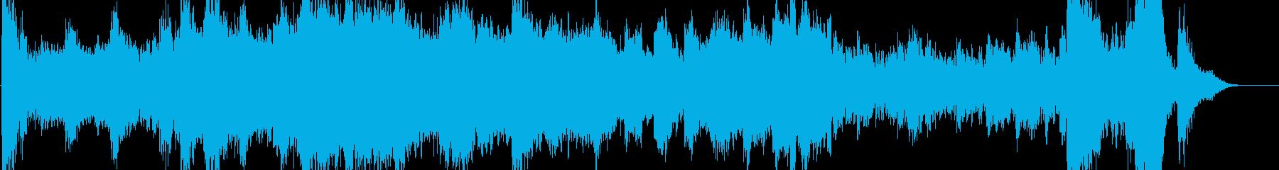 人間の住まぬ大陸の未来を描く幻想曲の再生済みの波形