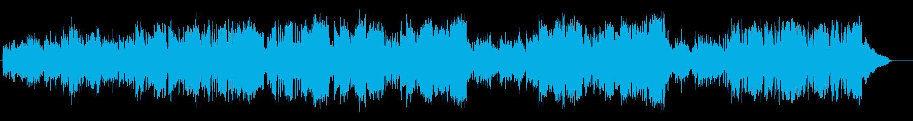 あたたかい日常・やわらかい雰囲気のBGMの再生済みの波形