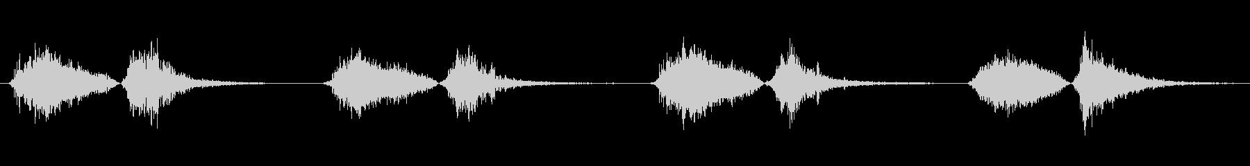 モンスター いびきブレス02の未再生の波形