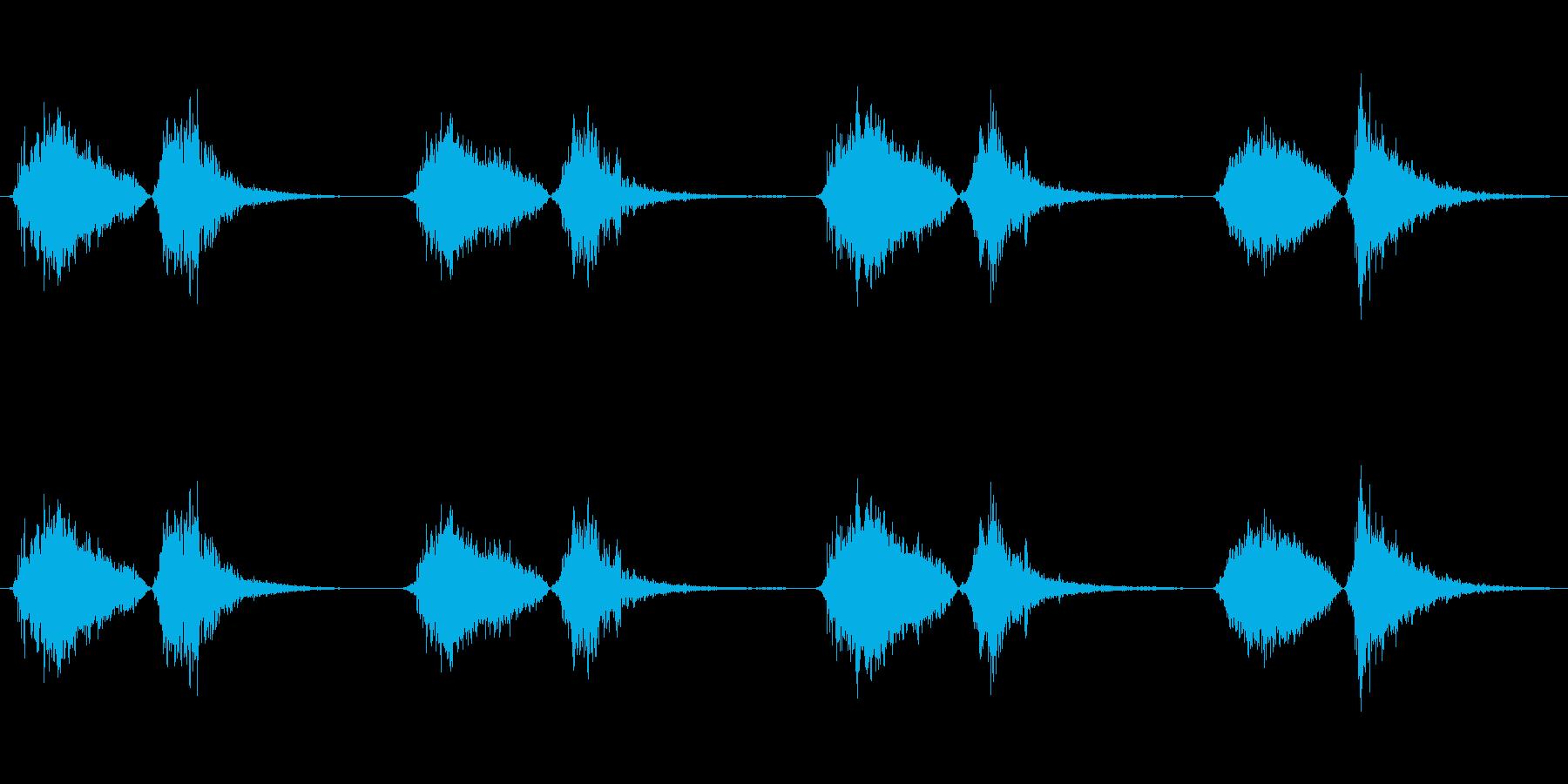 モンスター いびきブレス02の再生済みの波形