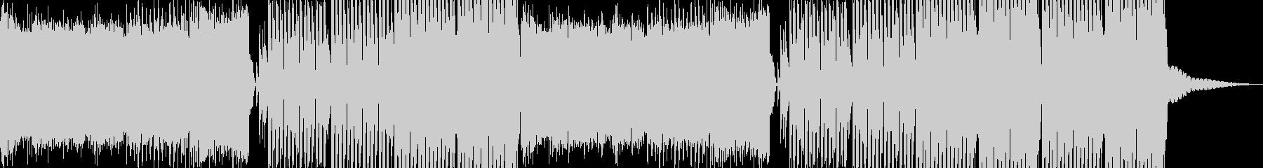 【EDM】力強い・アグレッシヴなサウンドの未再生の波形
