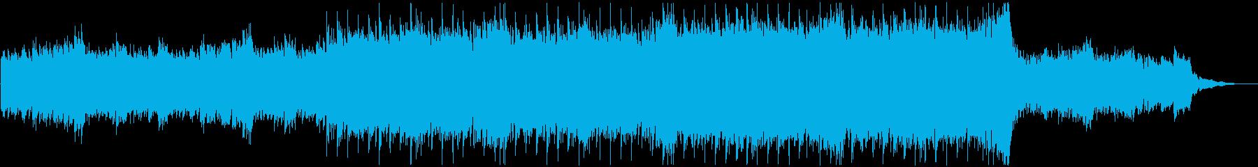 感動的エンディング、バラードの再生済みの波形