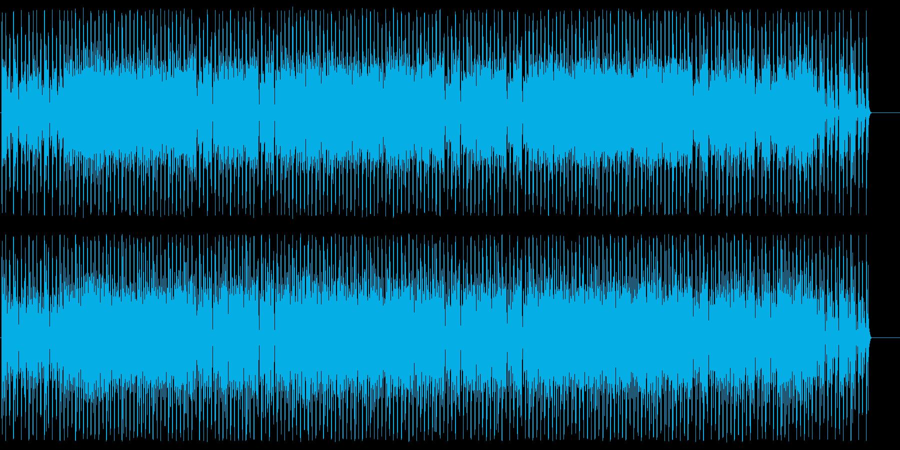 スピード感あふれる軽快なポップスです。の再生済みの波形