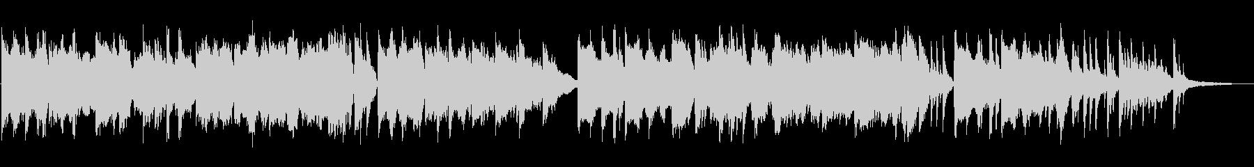 センチメンタルなピアノ+チェロ&篳篥の未再生の波形