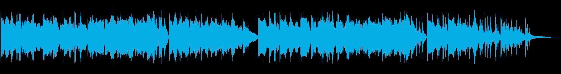 センチメンタルなピアノ+チェロ&篳篥の再生済みの波形