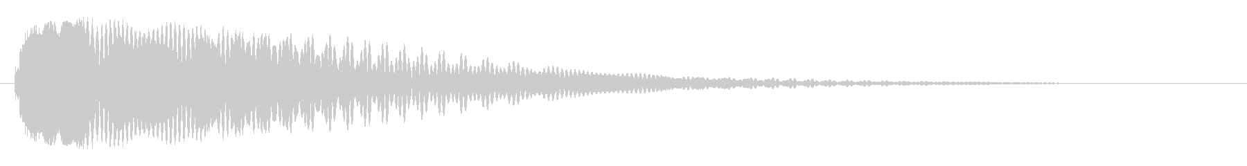 チリーン(鈴・ベルの音)の未再生の波形