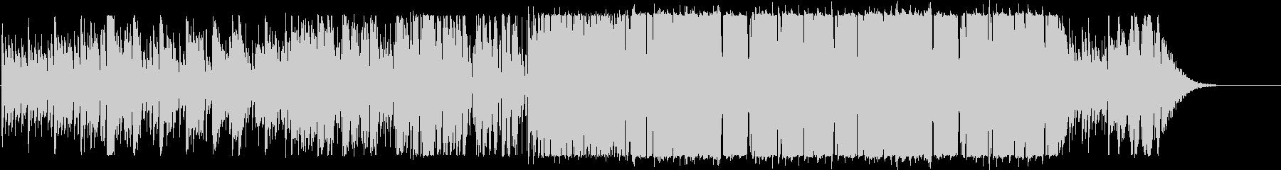 クールなエレクトロニックポップの未再生の波形