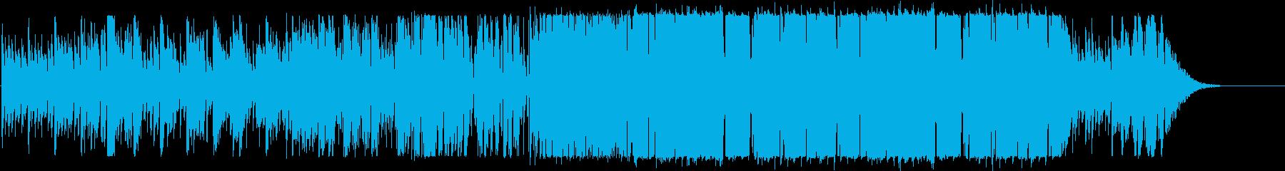 クールなエレクトロニックポップの再生済みの波形
