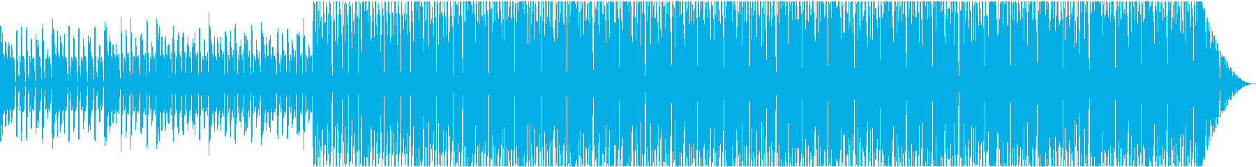 electronicの再生済みの波形