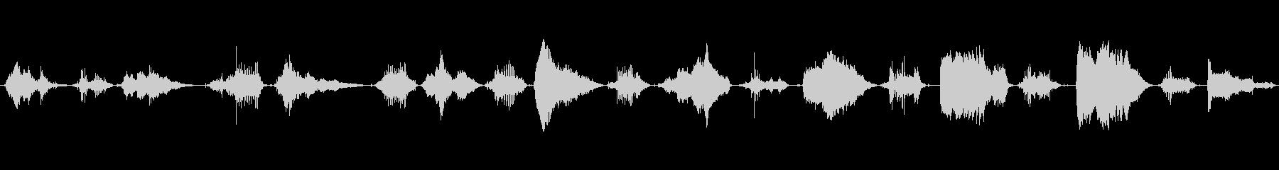 鳴き声 男性の睡眠いびき01の未再生の波形