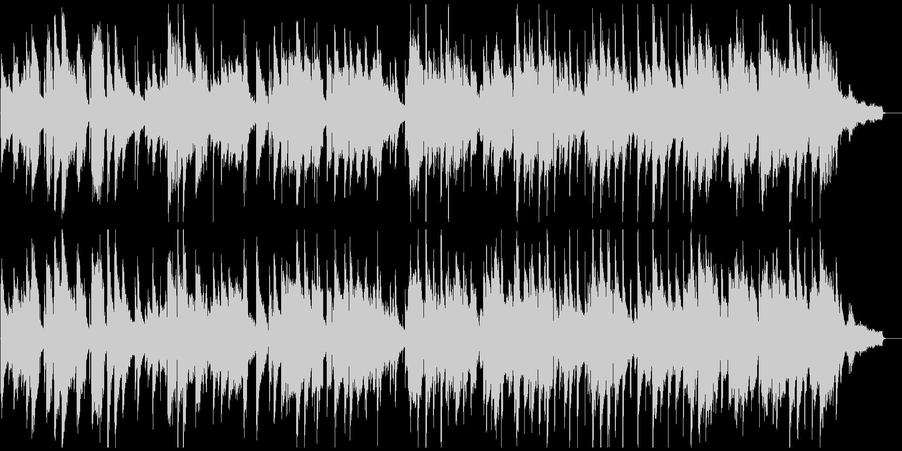 切ない大人のジャズ・バラード、夜景、バーの未再生の波形