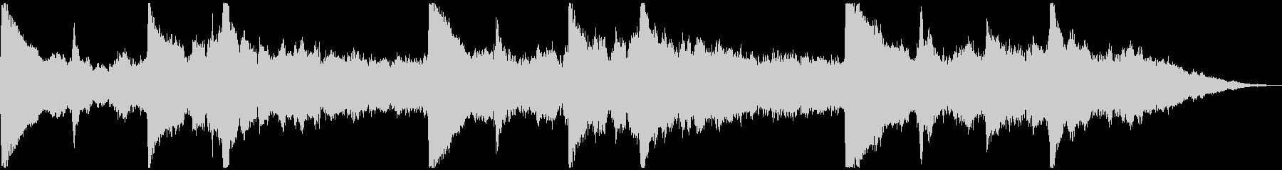5秒CM用、サウンドロゴverEの未再生の波形