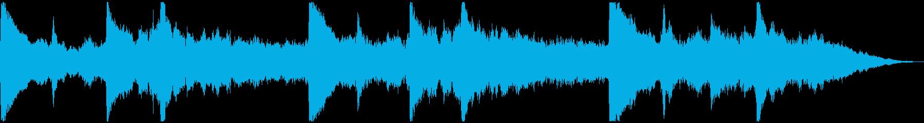 5秒CM用、サウンドロゴverEの再生済みの波形
