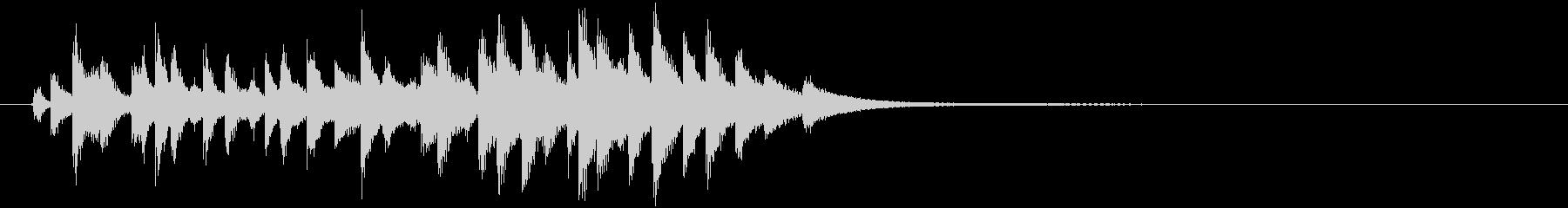オーストリアのカウベル:絶え間なく...の未再生の波形