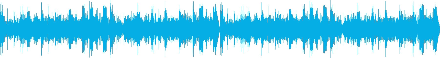 不気味で緊迫感のあるホラー風テクノの再生済みの波形